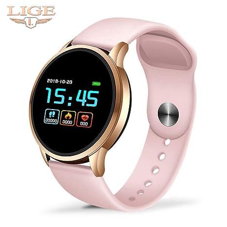 XIAOGAOJI Fitness Impermeable smartwatch medidor de frecuencia ...