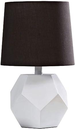 SLEVE Lámpara de Mesa pequeña de Tela/Resina, lámpara de Mesa ...