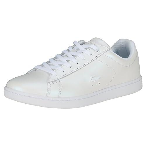 Lacoste Mujer Blanco Carnaby EVO 318 5 Zapatillas: Amazon.es: Zapatos y complementos