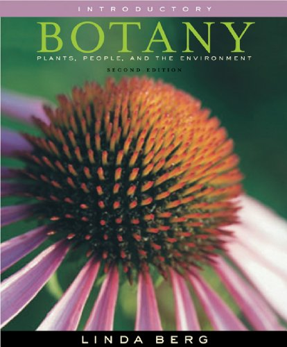 Coloring Book for Berg's Introductory Botany: Plants, People, and the Environment (Introductory Botany Plants People And The Environment)