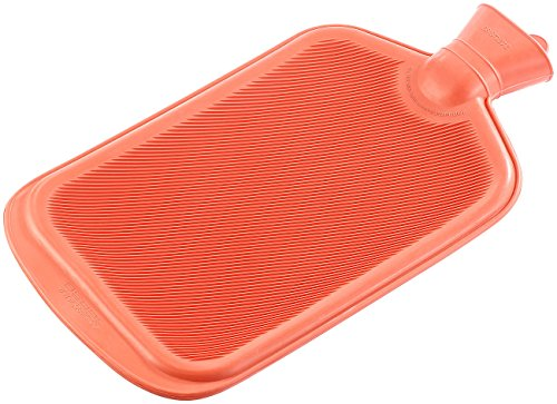 PEARL XXL-Wärmflasche rot; 3 Liter