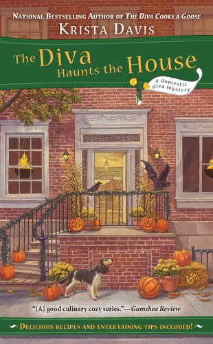 book cover of The Diva Haunts the House