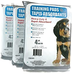 Heavy Duty Training Pads (3 packs) by Greenbrier
