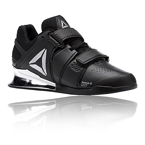 Reebok WoMen Legacylifter Fitness Shoes, Black, 8.5 Black (Black/White/Silver 000)