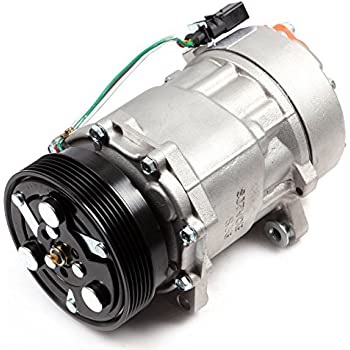 ECCPP AC Compressor and A/C Clutch Replacement for CO 1206JC Automotive Replacement Compressor Assembly for Beetle Jetta Golf 1999-2001 Volkswagen Golf 1.8L ...