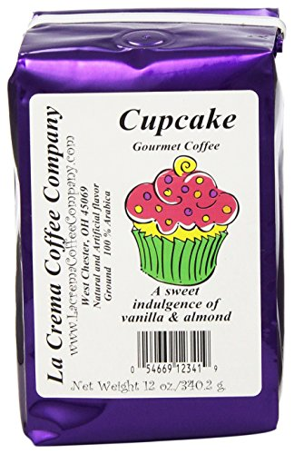 Coffee Cupcake - La Crema Coffee Cupcake, 12-Ounce Packages (Pack of 2)