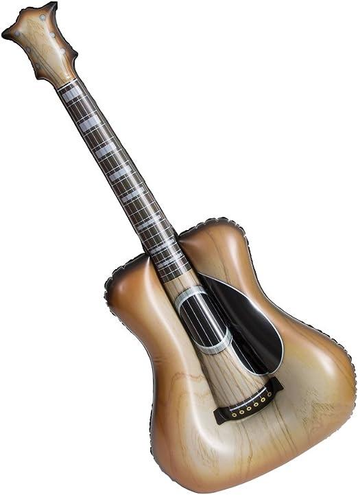 Unique Party - Guitarra Acústica Inflable - 96 cm (90655): Amazon ...