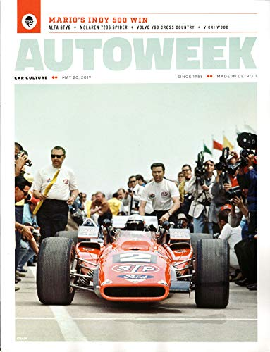 Autoweek Magazine May 20, 2019 | Mario's Indy 500 - Autoweek Magazine