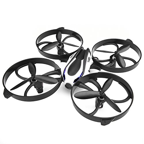 TOZO Drone RC Mini Quadcopter Altitude Hold Height Headless RTF 3D 6-Axis Gyro 4CH 2.4Ghz Helicopter Steady Super Easy Fly for Training