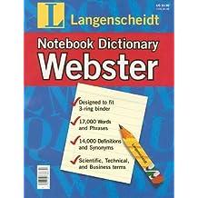 Langenscheidt Webster Notebook Dictionary