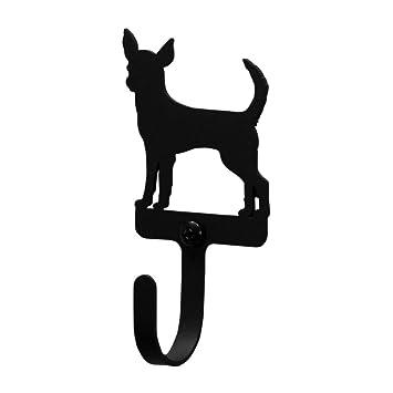 Amazon.com: Perro Chihuahua de hierro gancho de pared ...