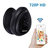 DMZOK 720P WiFi Camera, Baby Camera Monitor, Pet Camera, Built-in Microphone, One- Way Audio, Easy Setup, Remote Monitoring on Mobile App(Day Vision Only)