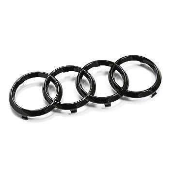 Original anillos Black Edition enfriador Barbacoa Emblema Blackline caracteres Logo Negro: Amazon.es: Coche y moto