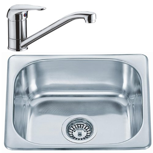 Kitchen Sink And Tap Set (KST052) Small square sink bowl and ...