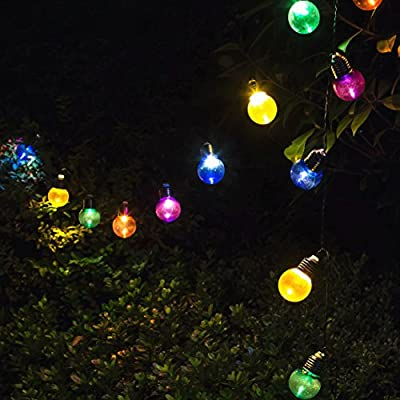 Sogrand Solar String Lights Outdoor Garden Decorative Light Landscape Lighting for Party Patio Yard Path