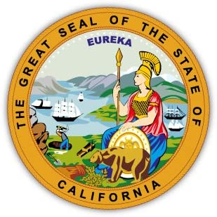 "Amazon.com : California state seal sticker decal 4"" x 4"" : Other ..."