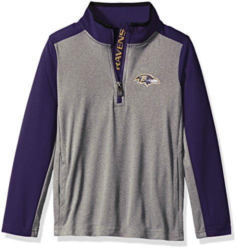 Outerstuff NFL Baltimore Ravens Kids /& Youth Boys Mainframe Performance Tee Ravens Purple 5-6 Kids Medium