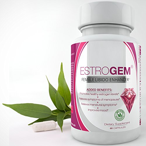 EstroGem Enhancement Menopause Supplement Menstrual product image