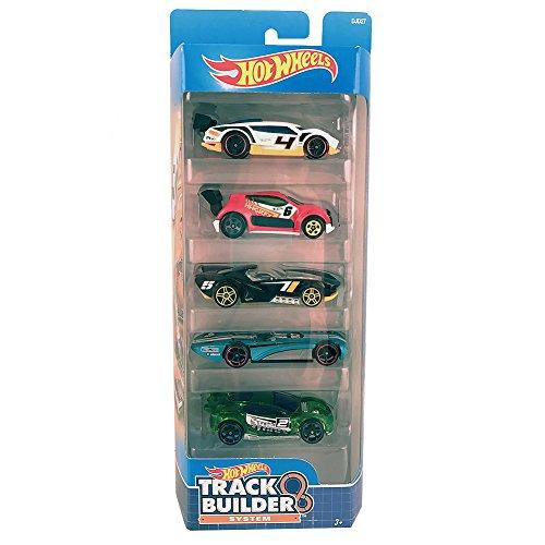 (Hot Wheels, 2016 Track Builder 5-Pack (Version 2))