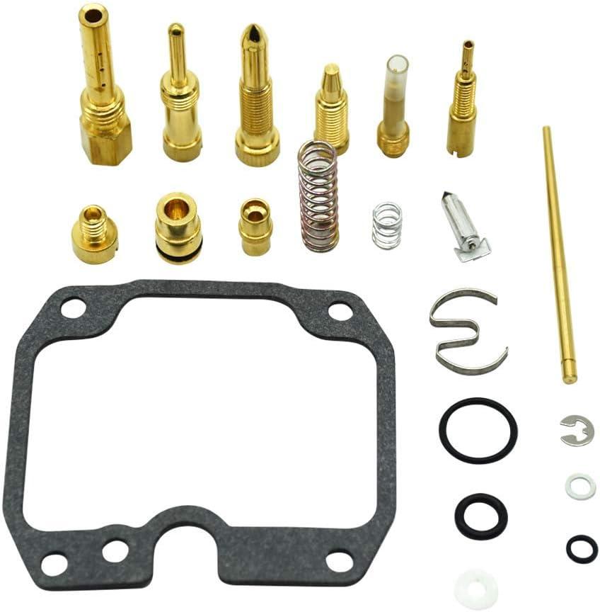 Carburetor Carb Rebuild Repair Kit For 2003-2006 Kawasaki Bayou 250 KLF250 ATV