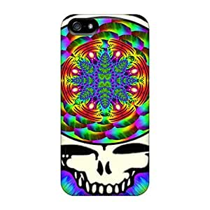 PhilHolmes Iphone 5/5s Shock-Absorbing Cell-phone Hard Covers Customized Attractive Grateful Dead Pattern [CUX5013hkJP]