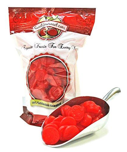 Ferrara Candy Ju Ju Coins (Cherry)- Retro Candy (2.5Lb)