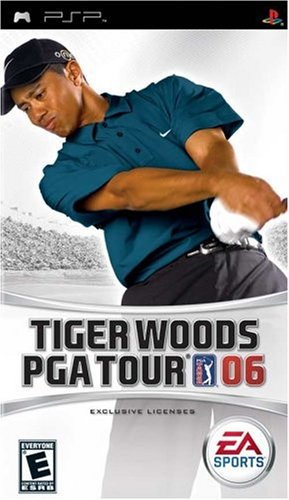 Mo Blue Tigers - Tiger Woods PGA Tour 2006 - Sony PSP