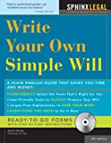 Make Your Own Simple Will, Mark Warda, 1572485116