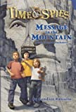 Front cover for the book Message in the Mountain by Candice Ransom