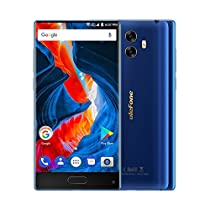 "Ulefone MIX Smartphone 4G Android 7.0 (MTK6750T Octa Core 1.5GHz, 5.5"" Corning Gorilla Glass 3 HD Schermo, 4GB RAM 64GB ROM, 13MP+13MP+5MP Camera, Fingerprint ID, Dual SIM, 3300mAh Batteria) Nero"