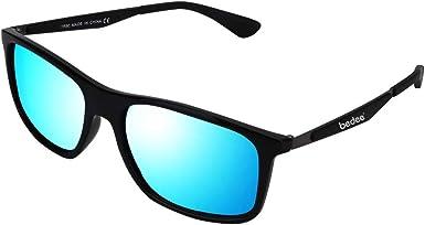 bedee Gafas de Sol Hombre, Gafas de Sol Polarizadas Aptos para Conducir, Pescar e Ir en Bicicleta Montaña, Lentes UV400 Y Montura De TR-90, 100% De Protección UV(Azul) …: Amazon.es: Ropa y