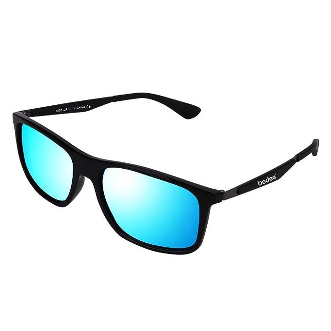 bedee Gafas de Sol Hombre Gafas de Sol Polarizadas Aptos para Conducir, Pescar e Ir en Bicicleta Montaña,Lentes UV400 Y Montura De TR-90,100% De ...