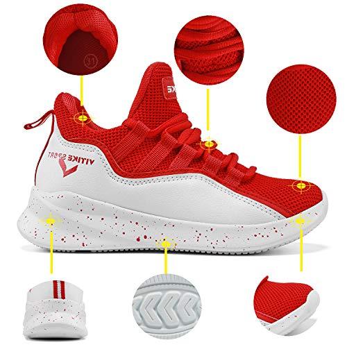 Ragazzi Scarpe Basket E Bambini Da 6 rosso q7Hw4U7
