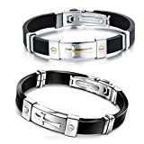 Best Friendship Cross Bracelet Friend Bangles Stainless Steel Review and Comparison
