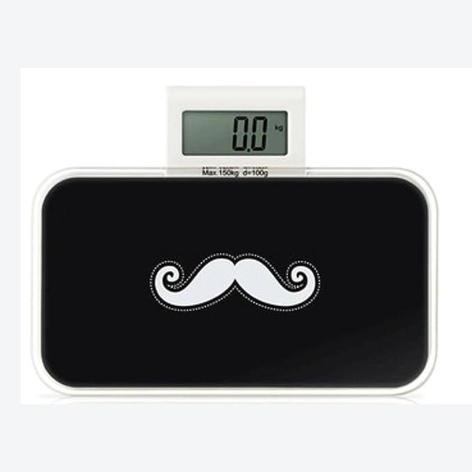 odefc Escalas electrónicas escalas de salud mini peso medidor escala de peso corporal escala electrónica pequeña electrónica dijo (Color : A) : Amazon.es