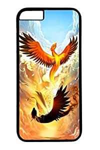 iphone 6 case, iphone 6 cases, Phoenix Rising Custom Design Hard PC Protective Slim Case Cover for iphone 6 4.7 Inch Black by runtopwell