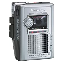 Panasonic RQ-L31 Portable Cassette Recorder with Slide Microphone
