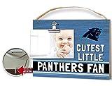 KH Sports Fan Clip It Colored Baby Logo Photo Frame Carolina Panthers