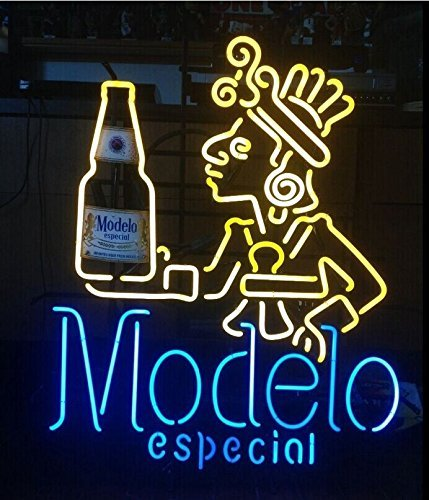 Urby™ 24''x20'' Modelo Especial Neon Light Sign Beer Bar Handicraft SP27