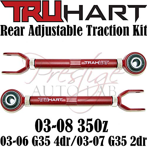 traction ARM KIT For 350Z G35 TRUHART Adjustable Front cambers Rear Camber
