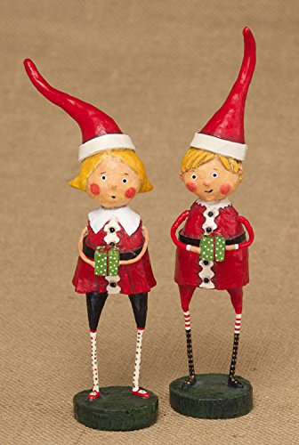 Lori Mitchell Santa's Little Helpers Set of Two