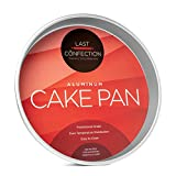 Last Confection Professional Bakeware - 12'' x 2'' Deep Round Aluminum Cake Pan