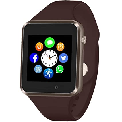 Smart Watch - Sazooy Bluetooth Touchscreen Smart Wrist Watch Smartwatch Phone Fitness Tracker with SIM SD Card Slot Camera Pedometer Compatible iOS ...