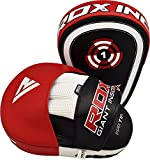 RDX Boxing Pads Focus Mitts |Maya Hide Leather
