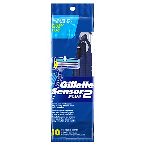 gillette-sensor2-plus-mens-disposable-razor-10-count-pack-of-3-mens-razors-blades