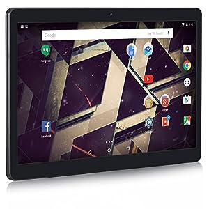 NeuTab 10.1 inch Unlocked GSM 3G Quad Core Tablet N11 Plus, 16 GB Storage, HD 1280x800 IPS Display, Bluetooth, GPS Supported, FCC Certified - Black