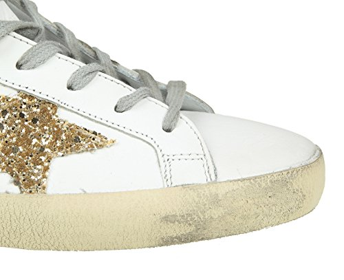 Golden Goose Damer G32ws590g62 Hvide Læder Sneakers 3GwPL
