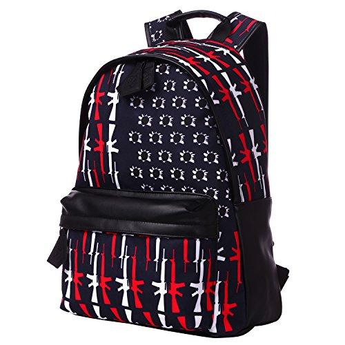 Bistar Galaxy - Mochila escolar para adolescentes, escuela, para niños y niñas, cabe un portátil de 15 pulgadas BBP617