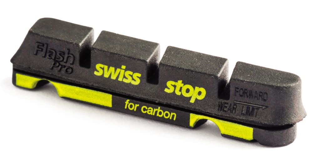 Swisstop FlashPro (Shim/SRAM Road) Brake Pads - Set of 4 by Swisstop