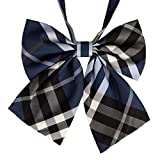 Lovely Sweet School Uniform Bow Tie Waiter Overalls Collar Flower Accessories #20